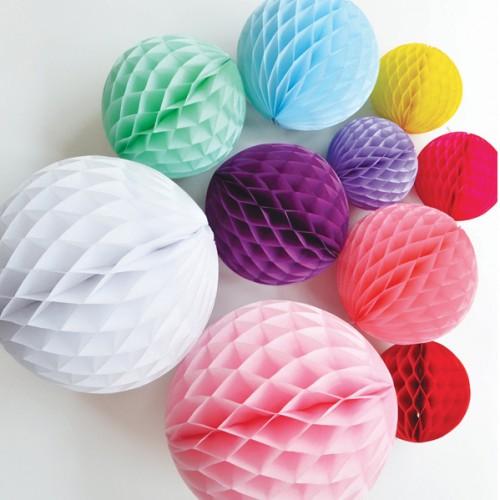 Aqua Honeycomb ball - 10''(25cm) My Little Day