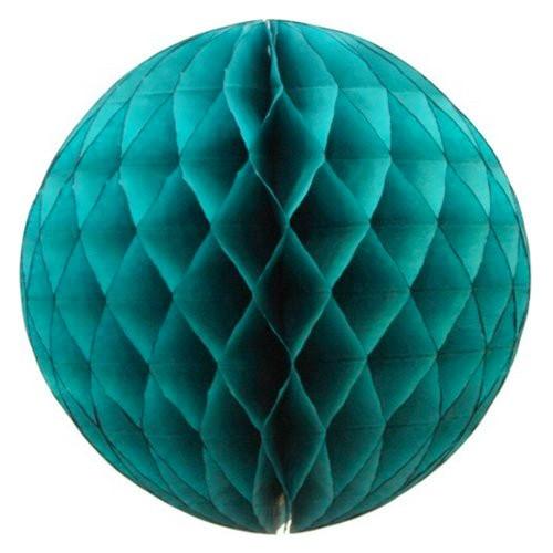 abcJoy τυρκουάζ Honeycomb ball - 14''