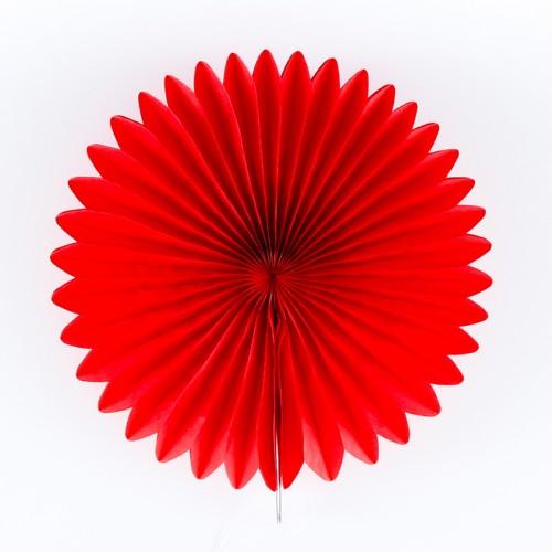 abcJoy κόκκινο Paper Fan