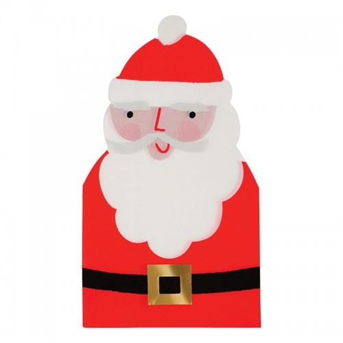 Χαρτοπετσέτες Άγιος Βασίλης 16pcs-Meri Meri