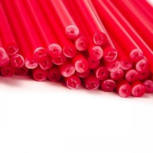 Βέργες Κόκκινες για Cakepops (20-pack)