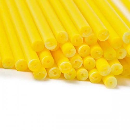 Βέργες Κίτρινες για Cakepops (20-pack)