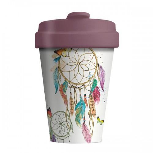 Bamboo Cup Dreamcatcher - Οικολογικά Ποτήρια Για Ζεστά Ροφήματα