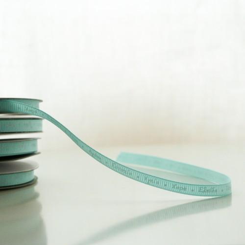 Κορδέλα Γαλάζια Με Ευχές (6mm)