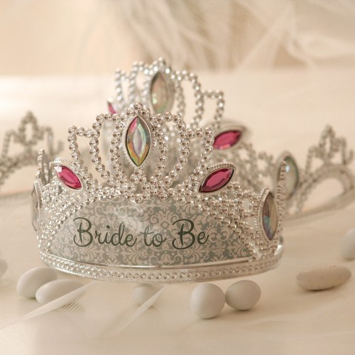"Στέμμα ""Bride To Be""- Tiara Bachelorette By Unique"