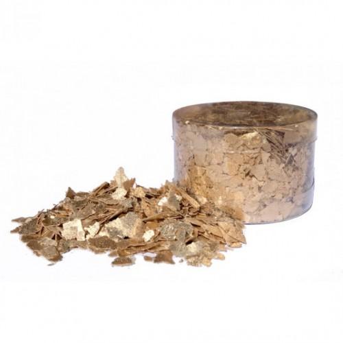 Βρώσιμες Νιφάδες Χρυσές-Edible Flakes Crystal Candy