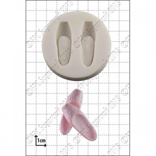 Καλούπι Σιλικόνης της FPC-Πουέντ (Ballet Shoes)