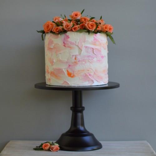 Μαύρο Μεταλλικό Cake Stand