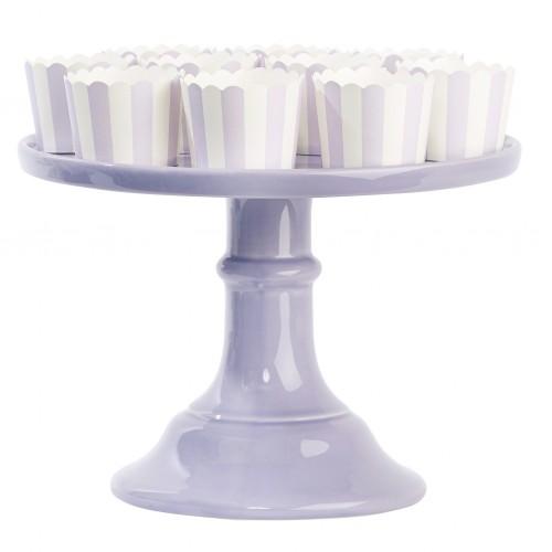 Χρώμα Λεβάντας Κεραμικό Cake Stand-Miss Etoile