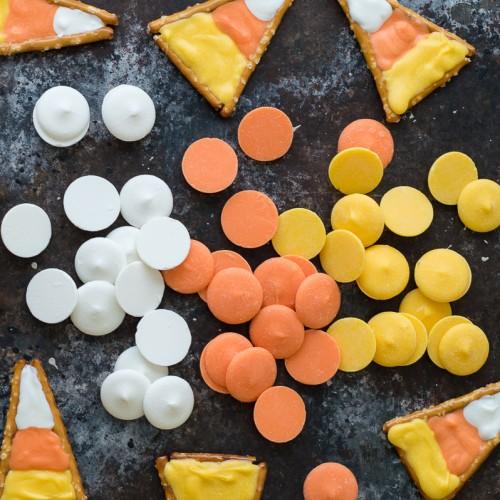 Πορτοκαλί Buttons Σοκολάτας-Candy Melts PME