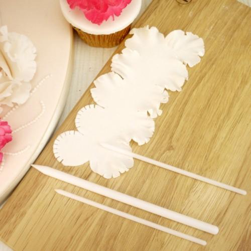 Sticks Κατασκευής Λουλουδιών Διαμορφωτές Πάστας