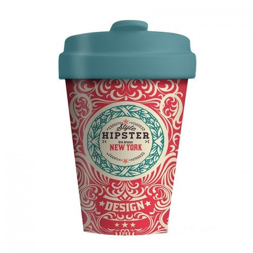 Bamboo Cup Original Hipster - Οικολογικά Ποτήρια Για Ζεστά Ροφήματα