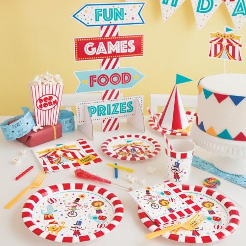 Διακοσμητικό Τραπεζιού Candy Bar Πάρτυ Τσίρκο