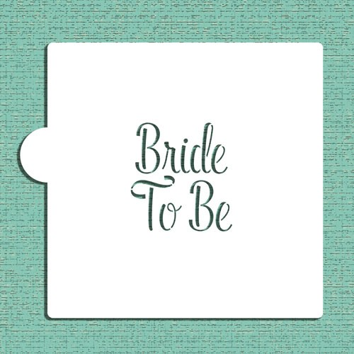 Bride To Be Bachelor Stencils - Στένσιλ Για Μπισκότα Μπάτσελορ Designer Stencils