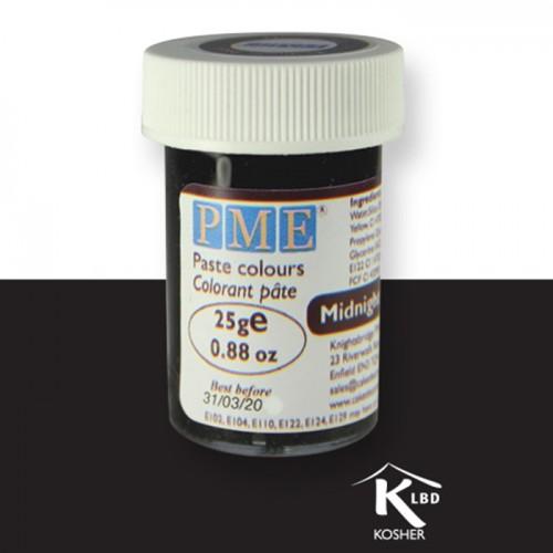 Χρώμα Πάστας Μαύρο PME