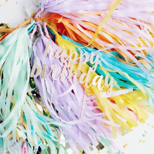 Tassel Garlands-Επιλέξτε Χρώμα