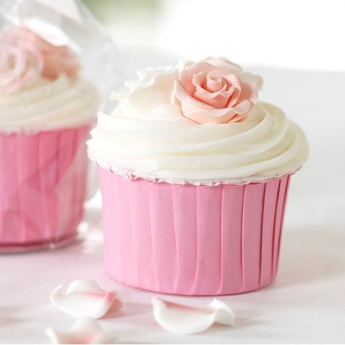 Culpitt Ροζ Σαγρέ Θήκες- 24 Pink Baking Cups