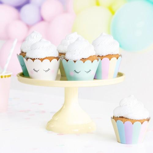 Χάρτινες Θήκες Μονόκερος Cupcake Wrappers PartyDeco