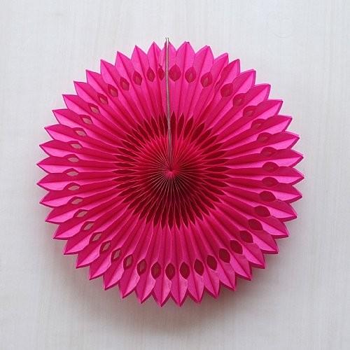 Paper Fan Φούξια 41cm Unique