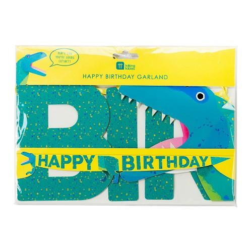 Γιρλάντα Δεινόσαυρος Happy Birthday Talking Tables