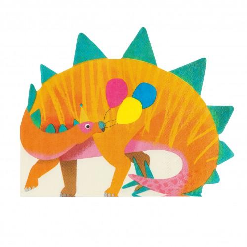 Χαρτοπετσέτες Σχήμα Δεινόσαυρος Talking Tables