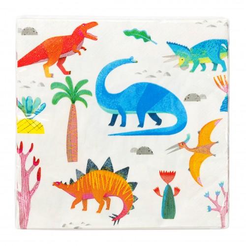 Χαρτοπετσέτες Δεινόσαυροι Talking Tables