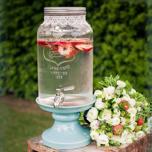 Glassware Dispenser Exeter/Γυάλα με Βρυσάκι (ύψος 27cm)