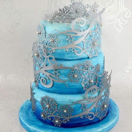 "Cake Lace - Καλούπι Δαντέλας ""Crystal"" (36x24cm)"