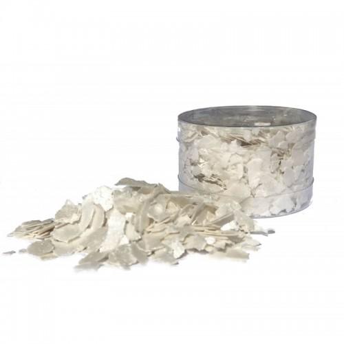 Βρώσιμες Νιφάδες Περλέ Λευκό-Edible Flakes Crystal Candy