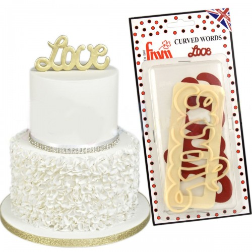 Κουπάτ Για Τούρτες Γάμου LOVE Tappit της FMM