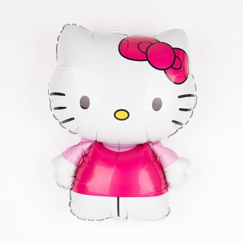 Μεταλλικό Jumbo Μπαλόνι Hello Kitty