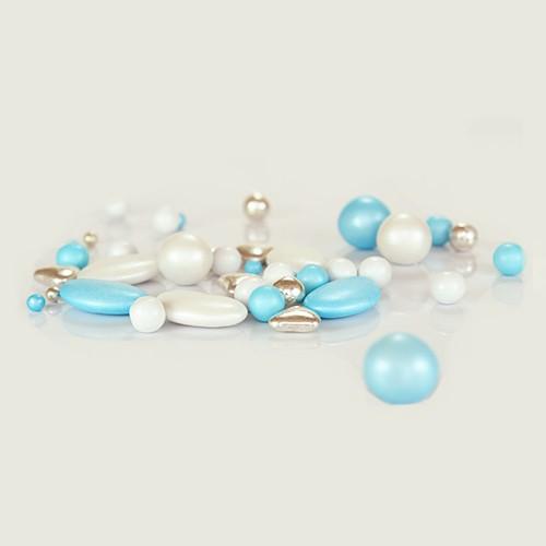 Πρίγκιπας - Frozen Pearl Mix Βρώσιμες Πέρλες Σοκολάτας Pearlicious 150gr