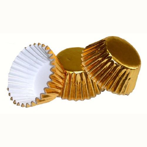 Μεταλλικά Καραμελόχαρτα Χρυσά Mini PME