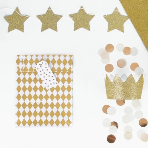 """Ετικέτες για Δώρα """"Χρυσά Αστέρια"""" My Little Day"""