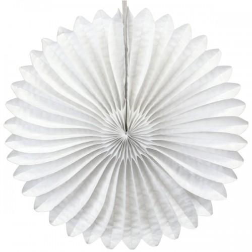 abcJoy λευκό Paper Fan