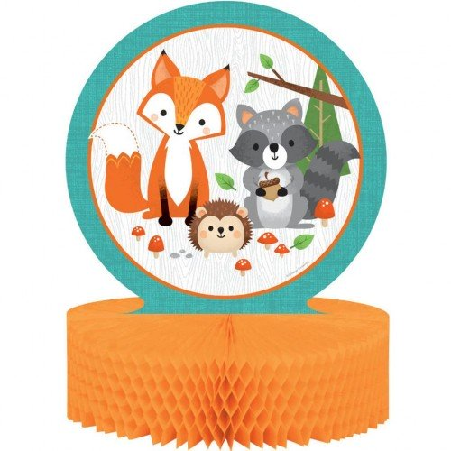Διακοσμητικό Τραπεζιού Honeycomb Ζώα Του Δάσους - Woodland
