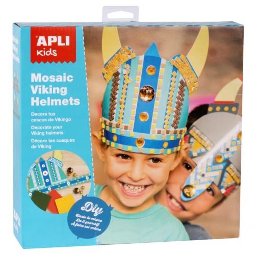 Παιδικά Κράνη Βίκινγκς - Κατασκευές Με Αυτοκόλλητα Και Πετράδια