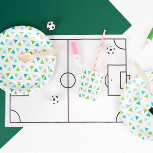"""8 χάρτινα σουπλά Ζωγραφικής """"Ποδόσφαιρο"""" My Little Day"""