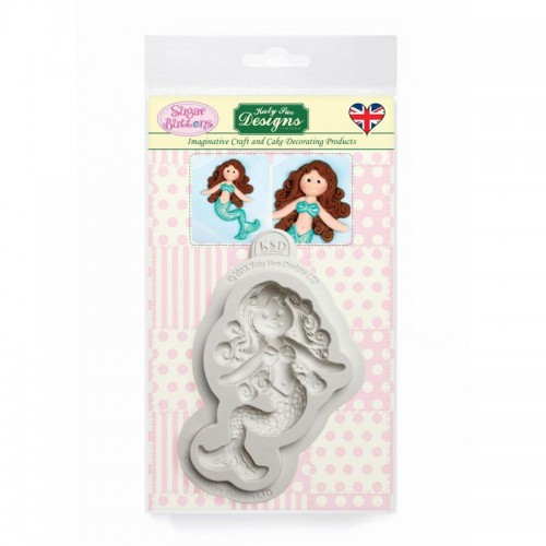 Καλούπι Σιλικόνης της Katy Sue - Μικρή γοργόνα (Little Mermaid Sugar  Buttons) ff57665240d