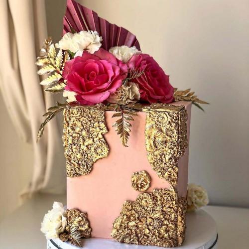 Καλούπι Σιλικόνης Δαντέλα Τριαντάφυλλα Για Τούρτες Και Cupcakes N.Y. Cake