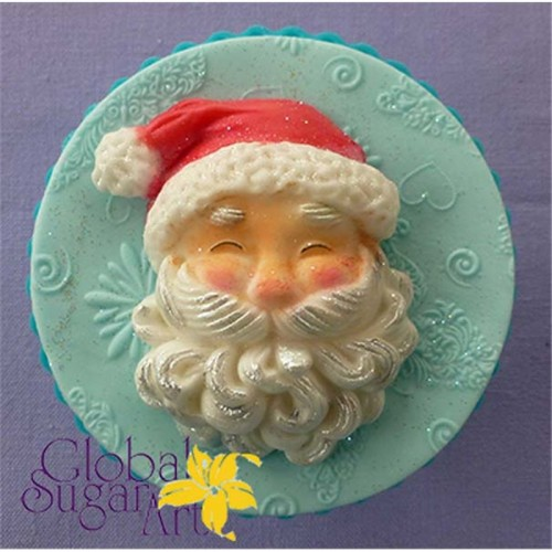 Καλούπι Σιλικόνης Άγιος Βασίλης Alphabet Moulds Santa Head