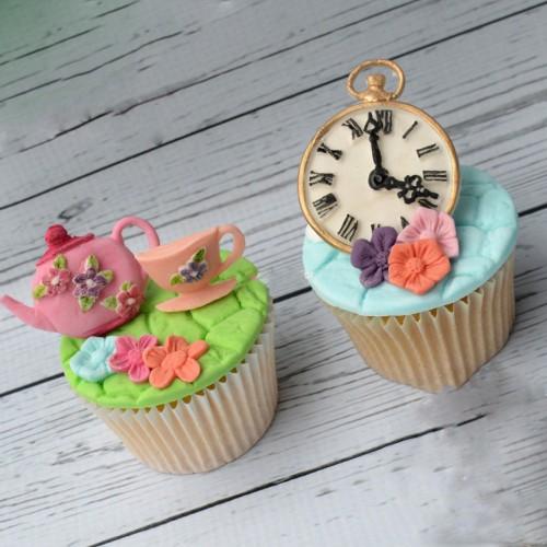 Καλούπι Σιλικόνης- Ρολόι-Vintage Clock της Katy Sue cfa42b18bef