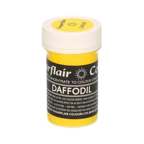 Κίτρινο Συμπυκνωμένο Βρώσιμο Παστέλ Χρώμα 25γρ της Sugarflair