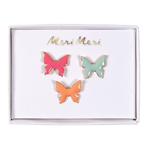 Καρφίτσες Πεταλούδα - Pins Butterfly Meri Meri