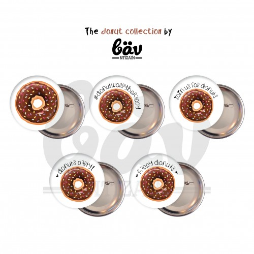 """Κονκάρδες Ντόνατς Για Δώρα Και Party Favors-The Donut Collection By """"Βαν Ντιζάιν"""""""