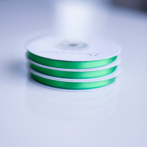 Κορδέλα Μέντα Βεραμάν σατέν διπλής όψης (3mm)