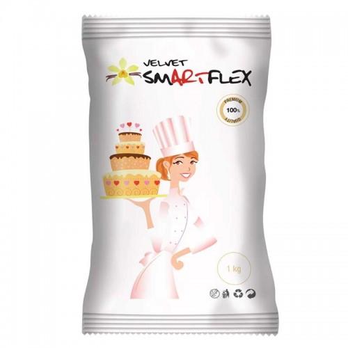 Λευκή Ζαχαρόπαστα Βανίλια SmartFlex Velvet 1Kg
