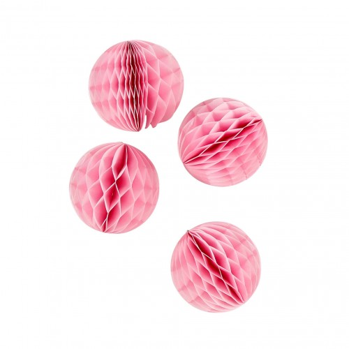 abcJoy ροζ Honeycomb ball - 8''