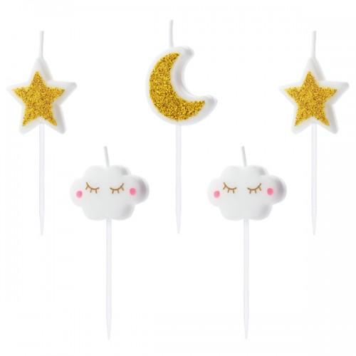 Κεριά Γενεθλίων Little Star PartyDeco