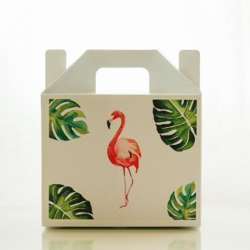 Λευκό Lunch Box-Χάρτινη Συσκευασία Φαγητού
